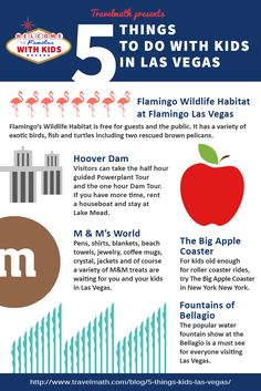 Travelmath& 5 things to do with kids in las vegas. Las Vegas Vacation, Vacation Trips, Trip To Grand Canyon, Vegas Birthday, Hoover Dam, Travel With Kids, Nevada, Things To Do, Road Trip