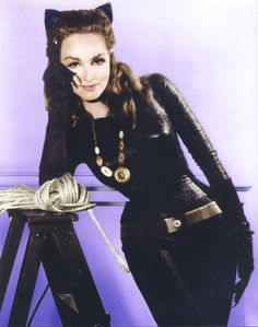 Original Catwoman Julie Newmar Talks Old Hollywood and Why She's Glad It's Changing Catwoman Cosplay, Batman Und Catwoman, Batman 1966, Batman And Superman, Batman Robin, Julie Newmar, Original Catwoman, Cinema, Classic Tv