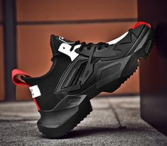 All Black Men Shoes Tenis Masculino Adulto Lightweight Comfortable White Sneakers Zapatos De Hombre Fashion Zapatillas Casual Chunky Sneakers, Best Sneakers, White Sneakers, Sneakers Fashion, Fashion Shoes, Mens Fashion, Luxury Fashion, Classy Fashion, Best Shoes