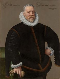 Frans Pourbus the Younger 1569 – 1622  An Unknown Man, aged fifty-six  Painted 1591
