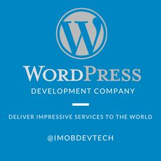 Get associated with the most prominent and effective Wordpress Development Company which deals with all the stuffs regarding Wordpress effortlessly and make your development more responsive to clients.