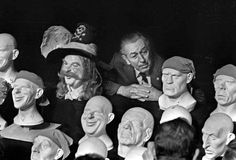 Walt Disney and the faces of Pirates of the Caribbean