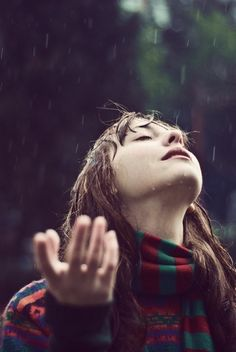 Don't let the rain stop your praying. The rain may change your prayers; it may intensify your prayers; it may make your prayers wordless. But, don't quit praying. I Love Rain, No Rain, Girl In Rain, Rain Dance, Singing In The Rain, Rain Drops, Rainy Days, Rainy Mood, Belle Photo