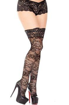 Pop Socks Dorothy 60s Long Stockings Light Blue Over The Knee 70 Denier Costume