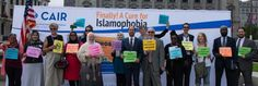Visit: http://www.cair.com  to watch CAIR's full news conference challenging GOP Islamophobia at the site of @RNCinCLE, .