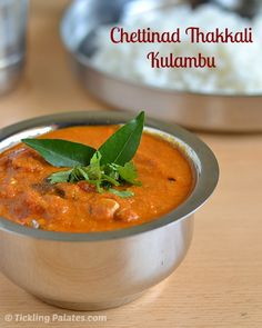Chettinad Thakkali Kuzhambu Recipe is a spicy main dish that is served along with rice. It is made with very ripe standard tomatoes that gives the kulambu a very rich natural color and the tangy taste. During one of the regular pondering with my MIL over what to make for lunch, this almost forgotten authentic …