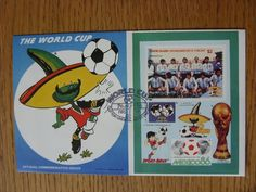 07/05/1986 World Cup Postal Cover: CC 1010 - Pique Mascot - Stamp: Argentina (Fi  | eBay