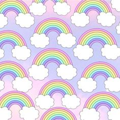 Cute rainbow iPhone wallpaper