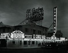 1952 El Cortez Hotel on Fremont Street