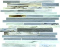 Love this new sea glass backsplash tile featured in the 2016 Tile Trends Report. Available for purchase at TileCircle.com