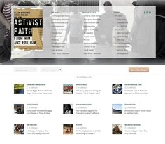 Activist Faith book blog | http://activistfaith.org