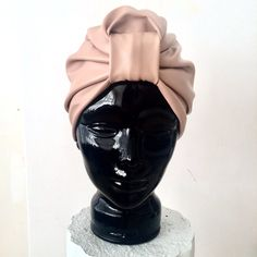 Handcrafted and lined CL Stella Turban in Nude Pink Stretch Leatherette. Turbans, Vogue Paris, Cl, Headbands, Dubai, Nude, London, Luxury, Stylish