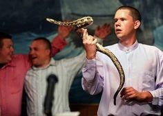 Snake-handling believers find joy in test of faith