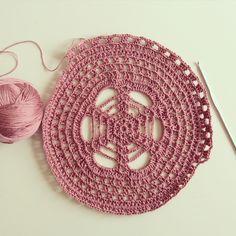 Crochet supla ( tığ işi tabak altlığı )