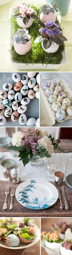 See more about egg shells, shower favors and easter eggs. Egg Shell Planters, Easter Crafts, Easter Ideas, Spring Wedding Decorations, Easter Weekend, Wedding Favours, Flower Crafts, Happy Easter, Easter Eggs