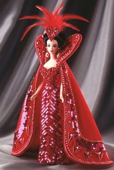 Bob Mackie Queen of Hearts Barbie® Doll - I own this doll.  Love Bob Mackie's Barbie designs.  They are some of my all time favorite Barbies.