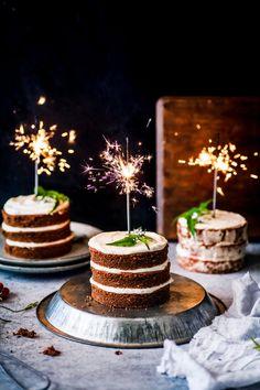 Mini Red Velvet Cakes With Cashew Cream Cheese Icing {DF, GF, Egg Free}