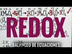 Balanceo de Ecuaciones por redox #Química #yamilcordoba YouTube