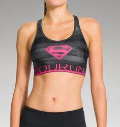 Women's Under Armour® Alter Ego HeatGear® Alpha Supergirl Sports Bra