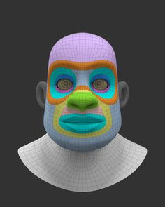 ArtStation - Character Face Study, Jonathan Gagnon