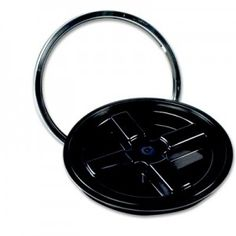 Black Gamma Seal® Lid for to 7 Gallon Pail