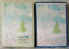 Hallmark-UNICEF-Christmas-Boxed-Greeting-Cards-Tree-Cardinal-Snowflakes