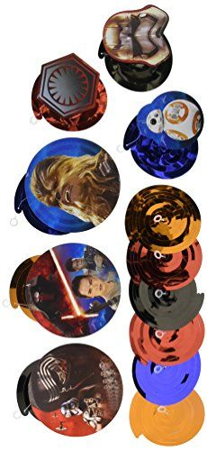American Greetings Star Wars Episode VII Hanging Decorations Party Supplies Novelty ** Check out the image by visiting the link.