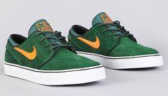 Nike SB Zoom Stefan Janoski | Gorge Green / Total Orange