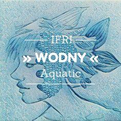 Aquatic fishead for Illustration Friday :)