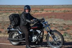 Day 5 Glendambo to Coober Pedy #blackdogride