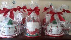 Panettoni decorati per Natale