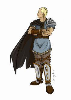 Haughty warrior by graywindru on DeviantArt