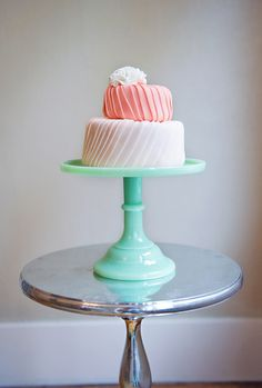 i love that cake stand more than the cake