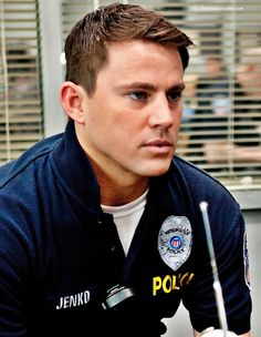 i would purposely break the law if channing were an actual cop. #arrestmenowplease