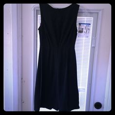 Sleeveless dress Black &charcoal grey houndstooth dress Merona Dresses