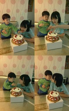 f(x)'s Sulli celebrates birthday with her cute little brother ~ Latest K-pop News - K-pop News | Daily K Pop News