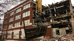 Come See The Demolition Of The Old Wrigley Gum Factory