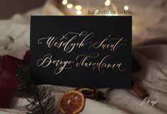 wypisz wyjątkowe kartki i ozdoby świąteczne - własnoręcznie i od serca. Place Cards, Place Card Holders, Studio, Studios