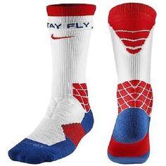 New Nike Football Elite Vapor Crew Socks Red White Blue Mens Shoe Size 8-12 #Nike #Athletic