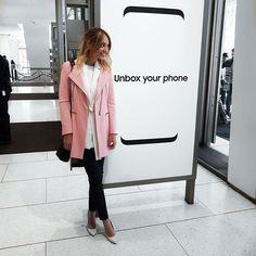 Ana Lucía Gutierrez de The Big Brown Eyes siguió de cerca el lanzamiento del S8 en Nueva York. #SinLimites #S8NY #UnboxYourPhone