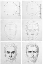 Imagini pentru drawing realistic male faces