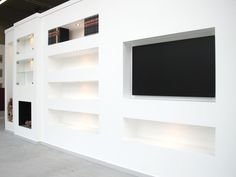 Recessed Shelves, Home And Garden, Interior Design, Home Decor, Bedroom Ideas, Search, Fire Places, Lounges, Interiors