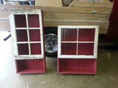 Prim Wall Cabinets -Harvest Thyme Primitives By Tristan
