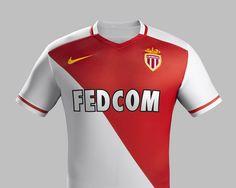AS Monaco 2015-16 Nike Home