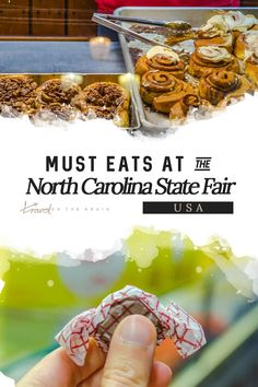 Do you love food? Try the NC State Fair, which goes for nearly two weeks and is a feast for gluttons. Here's what to expect. #northcarolina #statefair #ncstatefair