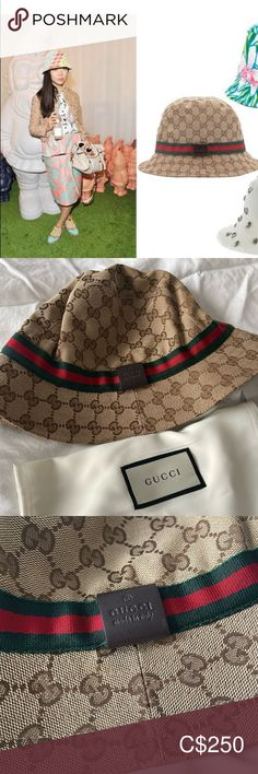 Gucci GG Bucket Hat Brand new Gucci Monogram GG Bucket Hat with tag & dust bag in Medium Gucci Accessories Hats Gucci Accessories, Women Accessories, Gucci Monogram, Plus Fashion, Fashion Tips, Fashion Trends, Dust Bag, Bucket Hat, Brand New