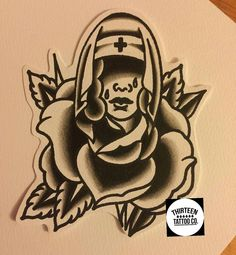 @thirteentattooco @cherryreds89 Anyone up for getting this really cool black traditional crying rose of no mans land tattooed on them? It's quite big and would be done at a discounted rate for a portfolio piece. Get in contact if you'd like it tattooed. Email ink13@hotmail.co.uk