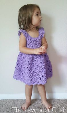 Romper free girls dress pattern