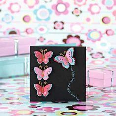die cut the butterflies
