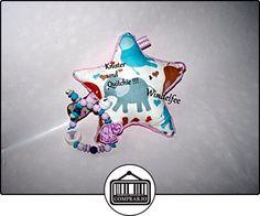 kidsundkisten Sonajero, estrella XXL con quitchie y nombres, regalo para de felicitación de nacimiento, bautismo, Baby Party  ✿ Regalos para recién nacidos - Bebes ✿ ▬► Ver oferta: http://comprar.io/goto/B01MZFC2TG